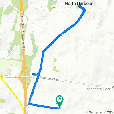 87 Fountain Road, Burpengary East to 87 Fountain Road, Burpengary East