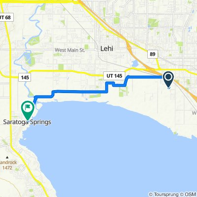 408–498 S Storrs Ave, American Fork to 600–698 S Saratoga Dr, Saratoga Springs