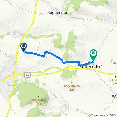 Gemütliche Route in Stoitzendorf