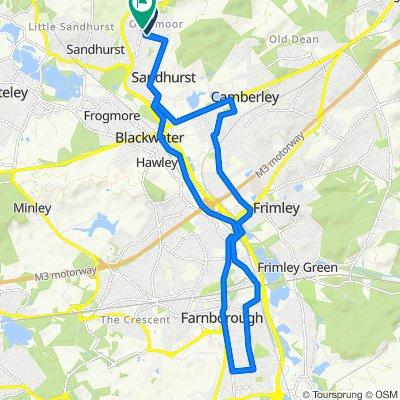 31–35 Yeovil Road, Sandhurst to 4 Victoria Road, Sandhurst