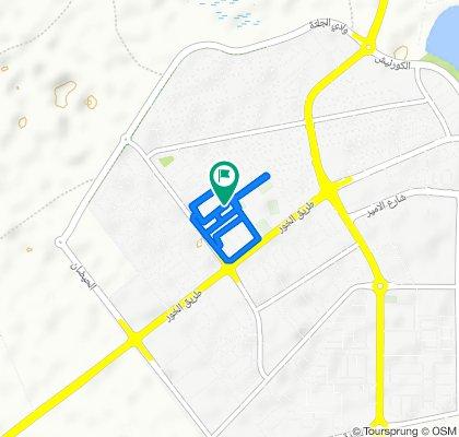 Easy ride in Al Khor