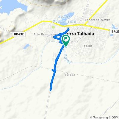 Passeio rápido em Serra Talhada