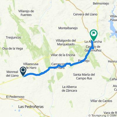 Belmonte_La Almarcha_40km_500m