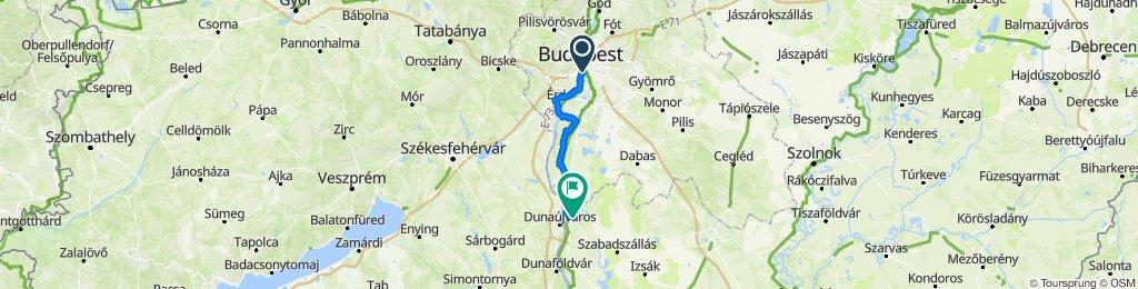 Infopark-Érd-Tököl-Szigetcsép-Ráckeve-Dömsöd-Tass-Szalkszentmárton_81km-90m
