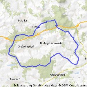 Bischofswerda - Massenei Rundtour