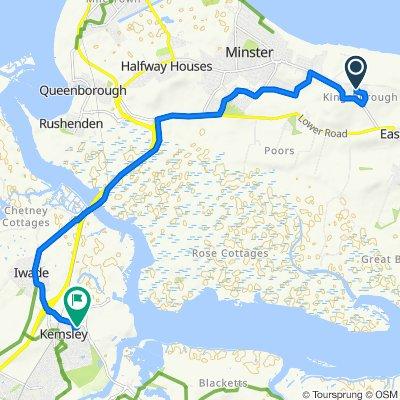 13 Carey Close, Sheerness On Sea to 1 Samuel Drive, Sittingbourne