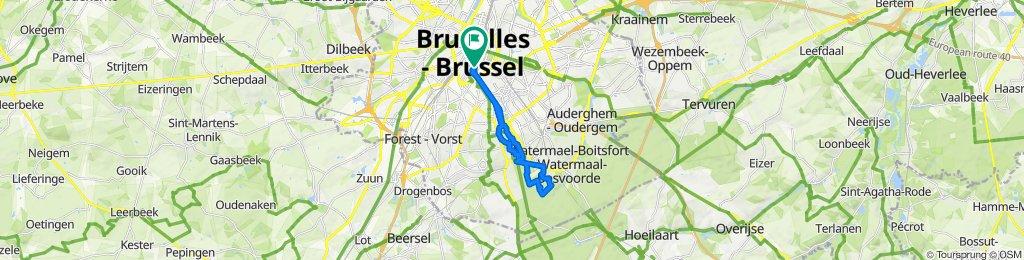Rue Watteeu 6, Brussels to Rue Watteeu 1, Brussels