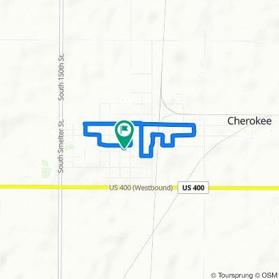 Easy ride in Cherokee