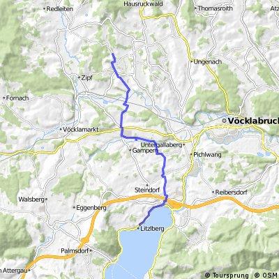 Neukirchen zum Attersee ( Litzlberg)