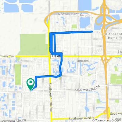 Steady ride in Miami