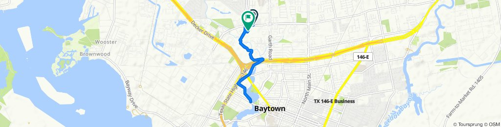 Easy ride in Baytown