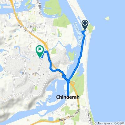 2 Chitticks Lane, Fingal Head to 59 Darlington Drive, Banora Point