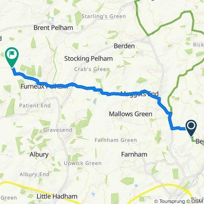 Easy ride in Buntingford