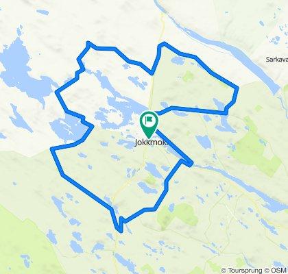 Jåhkåmåhkke Gravel Challenge part 1