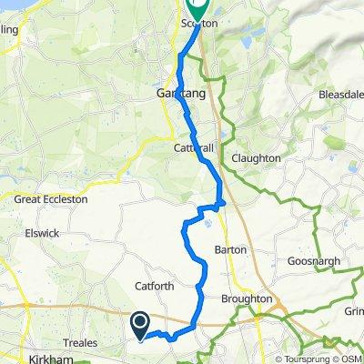 Sporty route in Preston
