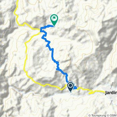 De Andes-Jardín a San Bartolo