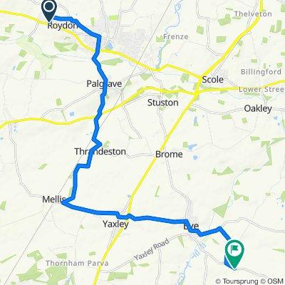 2–20 Bellrope Lane, Diss to Cranley Green Road, Eye