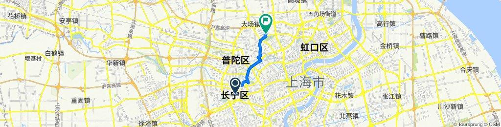 Xianxia Road No.319, Shanghai to Daning Lingshi Park Daning Tulip Park, Shanghai