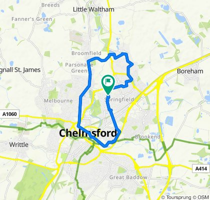 Moderate route in Chelmsford