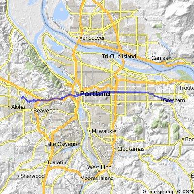 Gresham-Beaverton commute