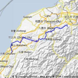 Tour de Taiwan - Day 1