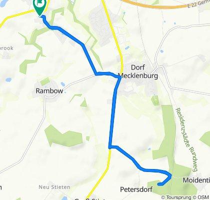 von Metelsdorf nach Moidentin