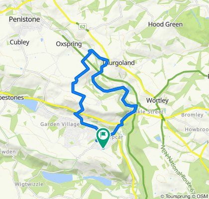 Coronavirus day 10: Home, Wortley, Thurgoland, Oxpring, Stocksbridge loop