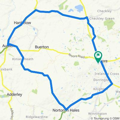 Woore Circular Route