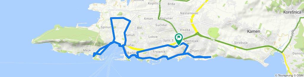 Easy ride in Split
