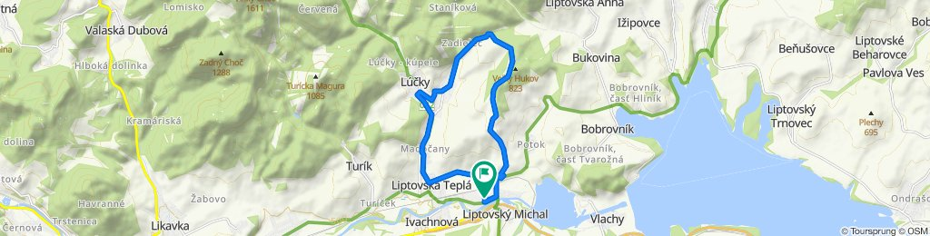 Pomalá jazda Liptovský Michal