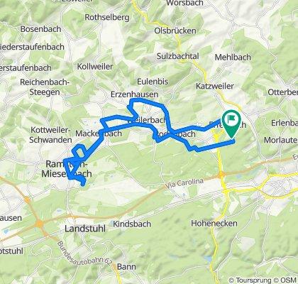 Erfenbach-Ramstein u. zurück