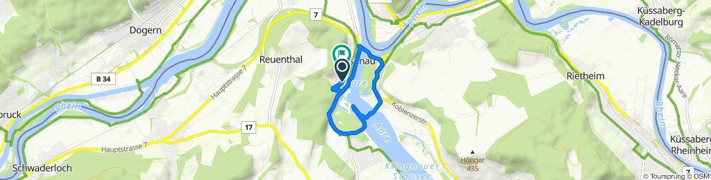 Gischbergstrasse 4, Leuggern to Sonnenrain 9, Leuggern