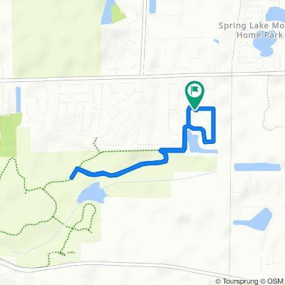 Slow ride in Bartlett