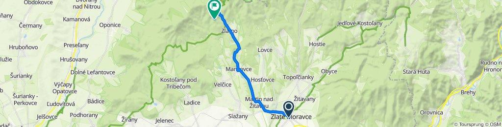 Zlaté Moravce - Zlatno - Čierny Hrad
