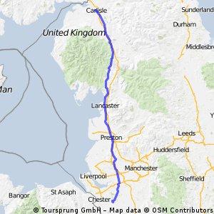Day 3.5 - Tarporley to Carlisle
