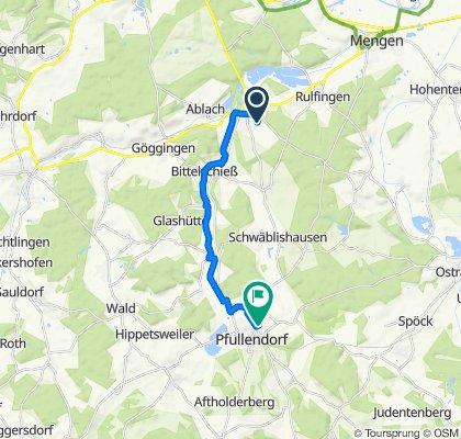 Birkhauweg 10, Krauchenwies to Roßknechtsiedlung 10, Pfullendorf