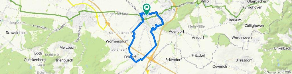 Am Rebstock 11, Meckenheim nach Am Rebstock 22, Meckenheim