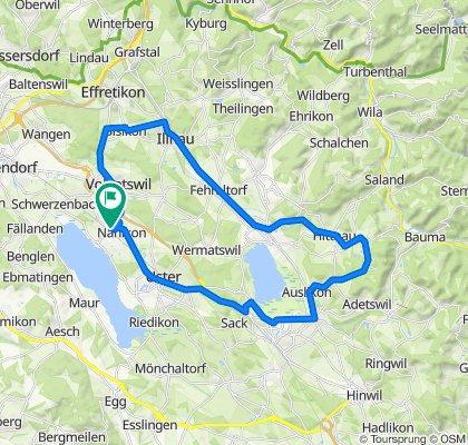 Pfäffikersee Tour Variante 2