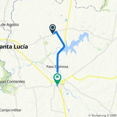 De Ruta 12 12 a Francisco Acu├Âôçÿa de Figueroa 322, Canelones