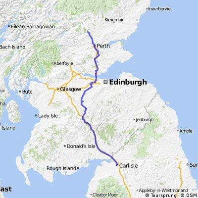 Day 4.5 - Carlisle to Dunkeld
