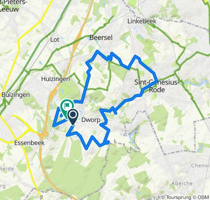 Itinéraire modéré en Beersel
