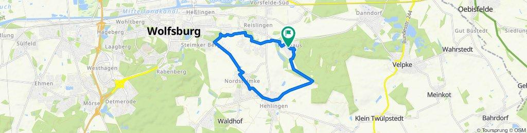Einfache Fahrt in Wolfsburg