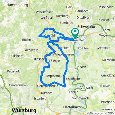 Berg-Rundelshsn-Stettbach-Mühlhsn bis Oberpleichfeld