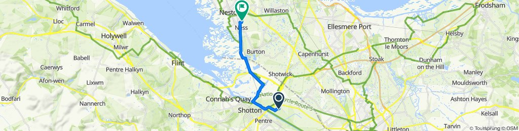 Easy ride in Neston