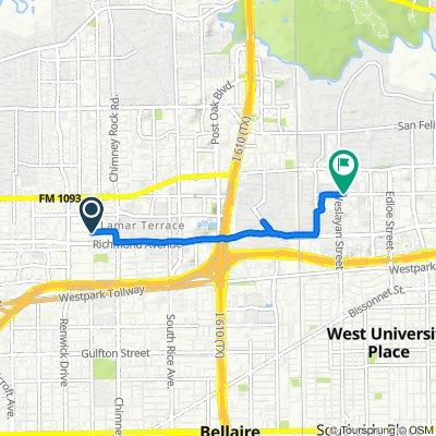 Steady ride in Houston