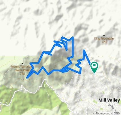 Mount Tamalpais Summit Loop