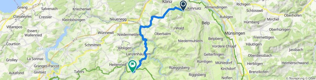 Kehrsatz - Schwarzenburg