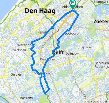 Leidschendam-Schipluiden 45km fietsronde