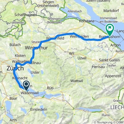 Au to Romanshorn