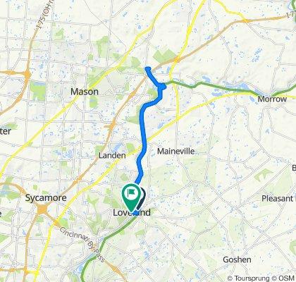 143 Maple Ave, Loveland to 442 W Loveland Ave, Loveland